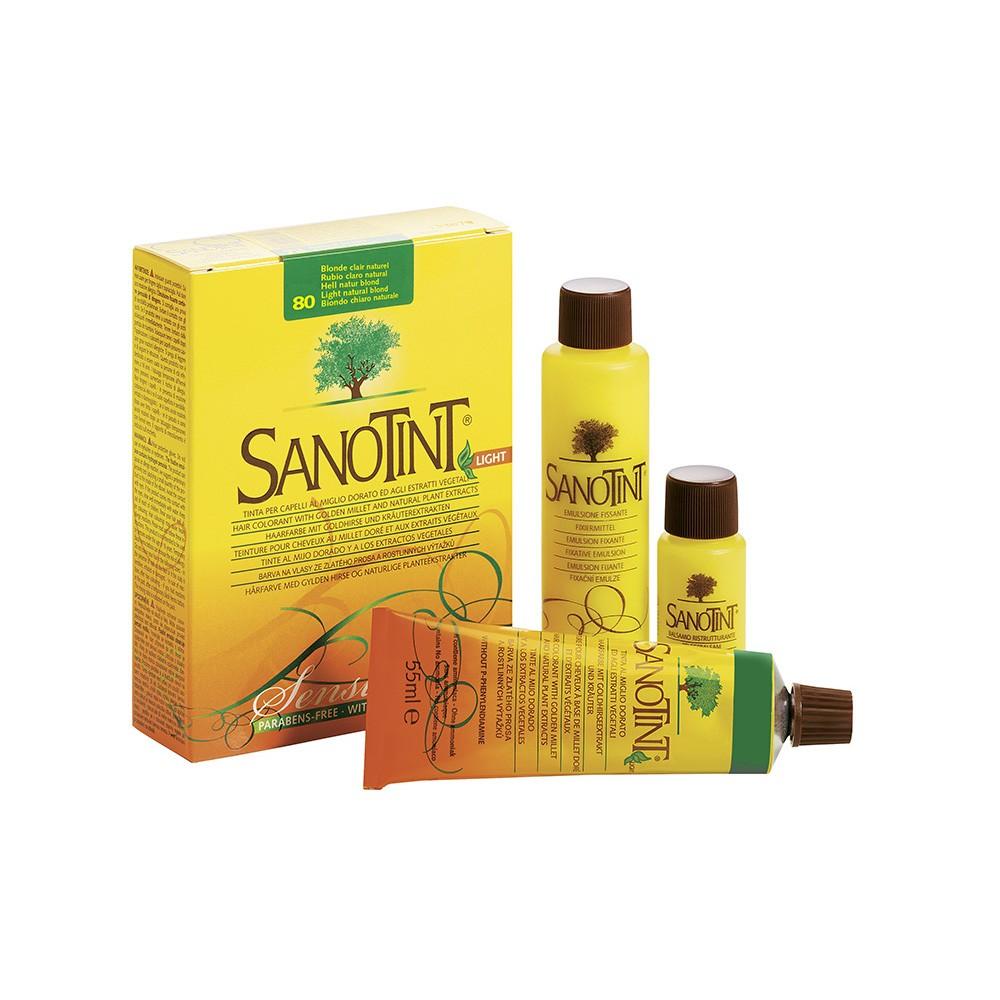 SANOTINT SENSITIVE COLORE BIONDO CHIARO NATURALE La scatola contiene: